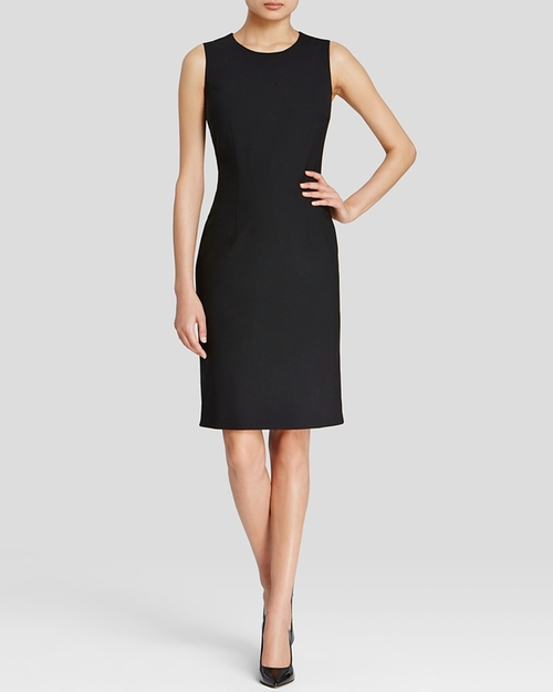 Dirusa Stretch Wool Sheath Dress by Boss Black in How To Get Away With Murder - Season 2 Episode 11