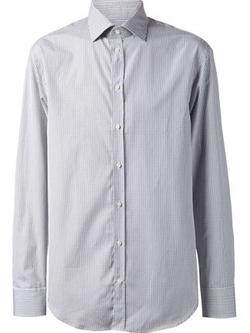 Mini Check Shirt by Armani Collezioni in Ballers