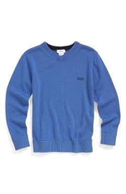 Elbow Patch Sweater by Boss Kidswear in Let's Be Cops
