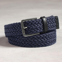Italian Webbed Belt by John Varvatos in Sisters