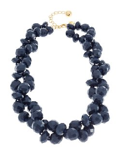 Give It A Swirl Beaded Twist Necklace by Kate Spade New York in A Most Violent Year