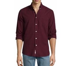 Standard Issue Brushed Cotton Sport Shirt by Rag & Bone in Empire