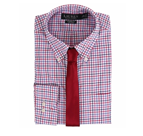 Check Classic Button Down Shirt by Ralph Lauren in The Boss