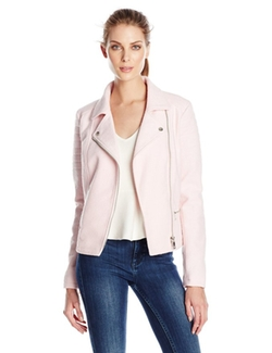 Wool Biker Jacket by Only in Supergirl