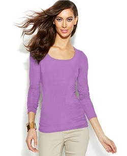 Scoop-Neck Top by INC International Concepts in The Best of Me