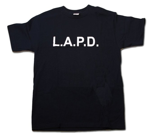 Los Angeles Police LAPD Law Enforcement T-Shirt by AAA in New Girl - Season 5 Episode 8