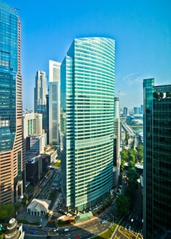 Singapore by Ocean Financial Centre in Hitman: Agent 47