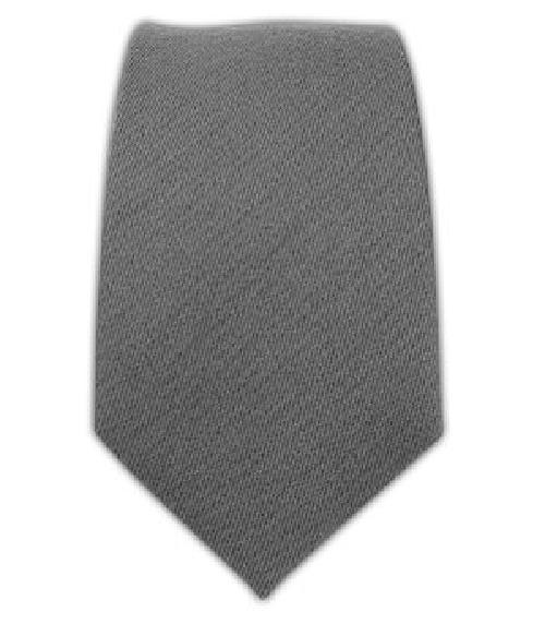 Wool Solid Gray  Tie by TheTieBar in Walk of Shame