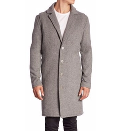 Melton Wool Coat by Zanerobe in How To Get Away With Murder