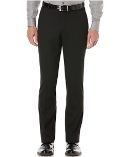 Portfolio Slim-Fit Pinstriped Dress Pants by Perry Ellis in Paper Towns
