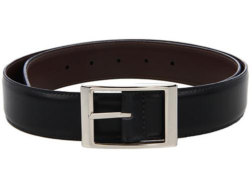 Reversible 33MM Aniline Leather w/ Aniline Leather by Torino Leather Co. in And So It Goes