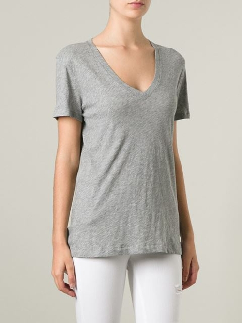 V-Neck T-Shirt by Rag & Bone /Jean in The Visit