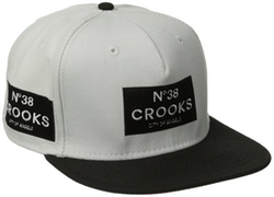 Men's Woven Snapback Cap by Crooks & Castles in Me and Earl and the Dying Girl