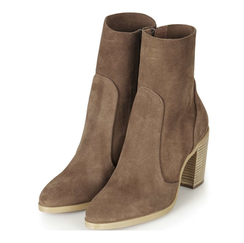 Magnificient Suede Sock Booties by Topshop in Pretty Little Liars - Season 7 Episode 10