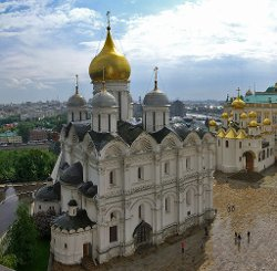 Moscow, Russia by Cathedral of the Archangel in Fast & Furious 6