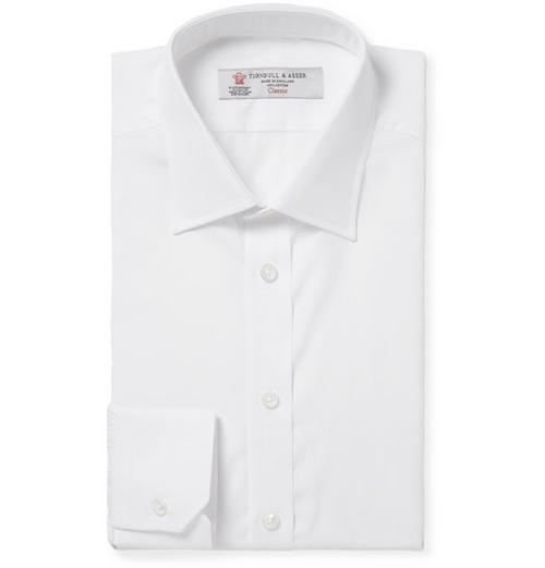 Cotton Shirt by Turnbull & Asser in And So It Goes