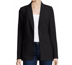 Long & Lean Blazer by Veronica Beard in Rosewood