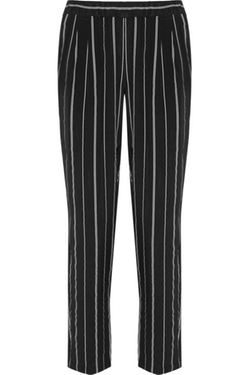 Hadley Striped Washed-Silk Pants by Equipment in Kill Bill: Vol. 1