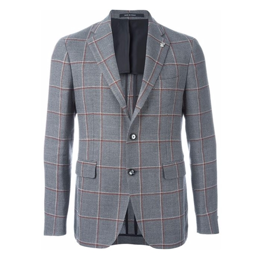 Checked Blazer by Tagliatore in Rosewood - Season 1 Episode 22