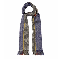 Embroidered Patchwork Scarf by Etro in Unbreakable Kimmy Schmidt
