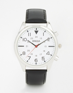 Leather Strap Watch by Breda in Whiskey Tango Foxtrot
