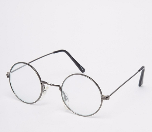 Reclaimed Vintage Round Glasses by Asos in The Intern
