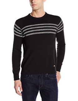 Cooper Chest-Stripe Crew-Neck Sweater by Dickies in The D Train