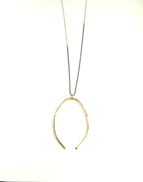 Wishbone Necklace by Jules Vance in The Bachelorette - Season 12 Episode 7