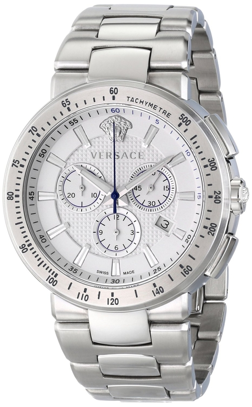Mystique Sport Silver Watch by Versace in Ballers