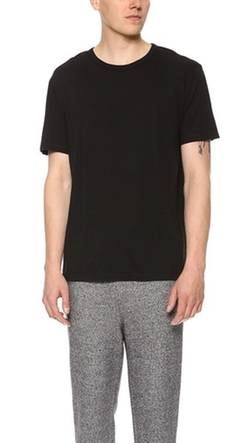 Classic Short Sleeve Tee by T by Alexander Wang in Steve Jobs