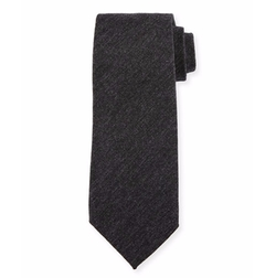 Solid Wool Tie by Tom Ford in Power