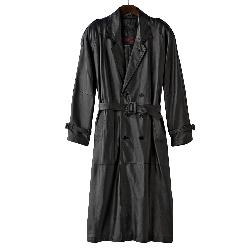 Nappa Leather Trench Coat by Excelled in Captain America: The Winter Soldier