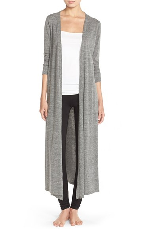Long Knit Cardigan by NYTT in Billions - Season 1 Episode 2