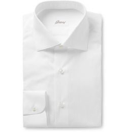 Cotton Shirt by Brioni in Fight Club