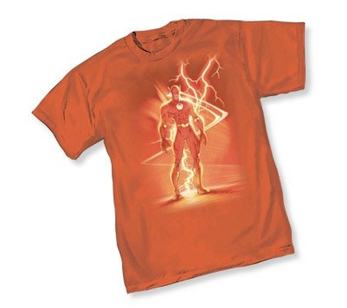 The Flash III Lightning Shirt by TV Store Online in The Big Bang Theory - Season 9 Episode 13