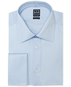 Solid Dress Shirt by Ike Behar in Suits