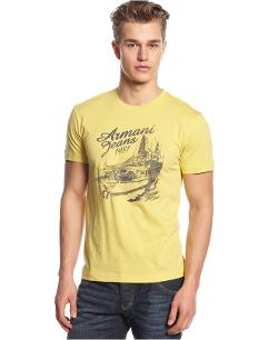Logo Sail Graphic T-Shirt by Armani Jeans in Into the Storm