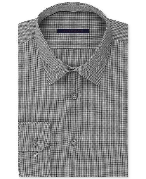 Micro-Gingham Dress Shirt by Elie Tahari in While We're Young
