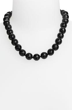 Stone Beaded Necklace by Simon Sebbag in And So It Goes