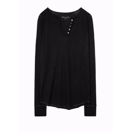Rhinestone Henley T-Shirt by Zadig & Voltaire in How To Get Away With Murder