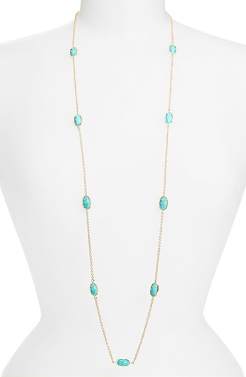 'Kelsie' Station Necklace by Kendra Scott in The Visit