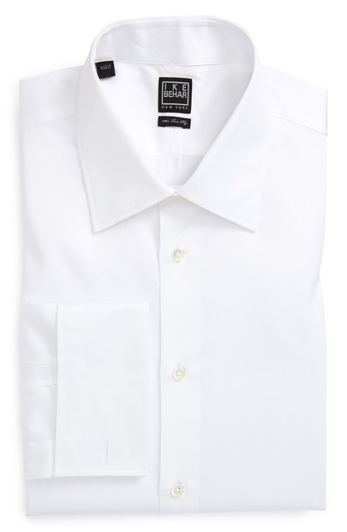 Solid French Cuff Dress Shirt by Ike Behar in Ricki and the Flash