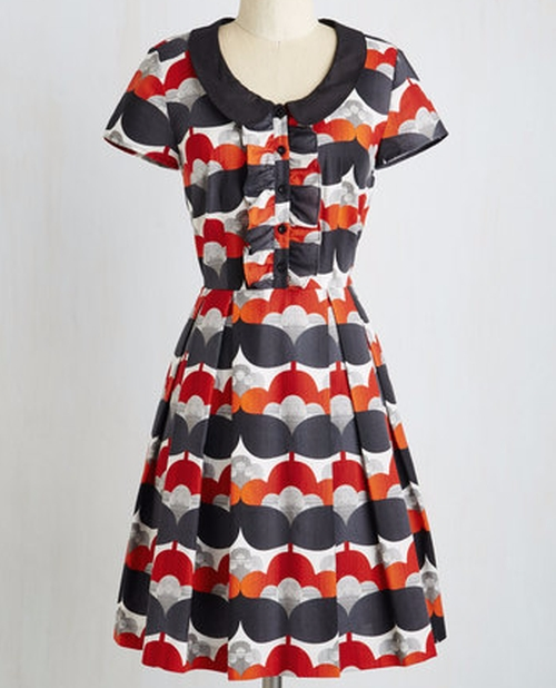 Bonbon Nuit Dress by ModCloth in New Girl - Season 5 Episode 15