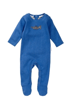 Growsuit Footie by Pure Baby Organics in Unfriended