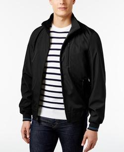 Three-Pocket Zip-Front Lightweight Jacket by Perry Ellis in Jason Bourne