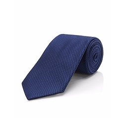 Silk Textured Tie by Boss Hugo Boss in Ballers