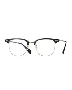 Executive I Half-Rim Fashion Glasses by Oliver Peoples in Survivor