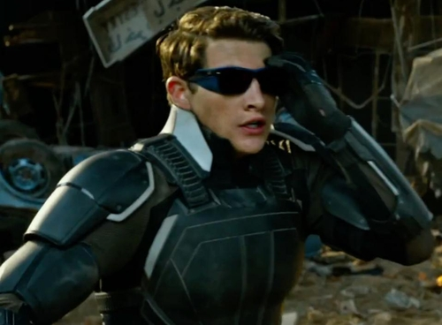 Custom Made Cyclops Suit by Louise Mingenbach (Costume Designer) in X-Men: Apocalypse