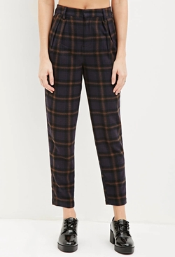 Tartan Plaid Trousers by Forever 21 in Scream Queens