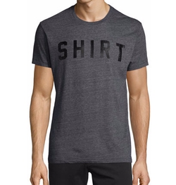 Shirt-Text Short-Sleeve T-Shirt by Sol Angeles in MacGyver